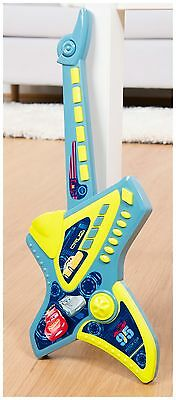 New Disney Cars Electronic Guitar - Boys Kids Instrument Electric Toy Gift