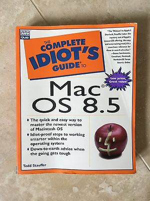 The Complete Idiot's Guide to Mac OS 8.5 by Todd Stauffer Paperback