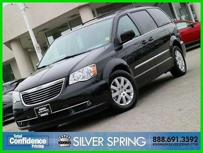 2016 Chrysler Town & Country TOURING 2016 TOURING Used 3.6L V6 24V Automatic FWD Minivan/Van Premium