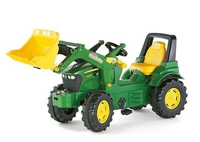 New Rolly Toys John Deere 7930 Pedal Tractor and Loader Age 3+
