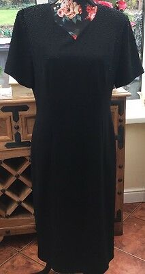 Ladies Dress From George Size 14  With Beaded Top