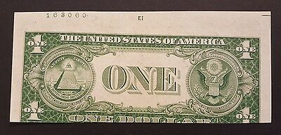 (ERROR) 1935E $1 Silver Certificate Note, One Dollar w Misaligned First Printing