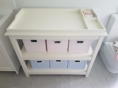 The Little White Company Gorgeous Baby Changing Table - RRP: £199