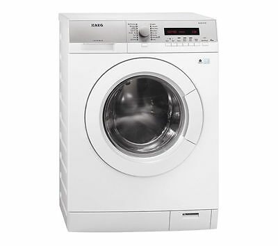 AEG LW74486FL 8kg 1400rpm A+++ Rated Freestanding Washing Machine in White