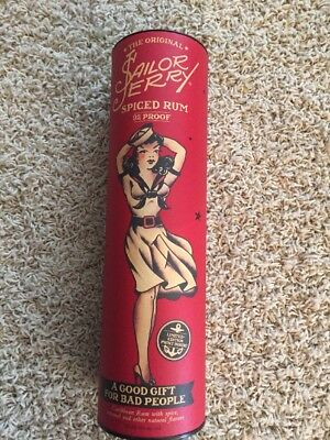 2015 SAILOR JERRY SPICED RUM Tube with Poster #4