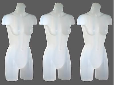 Female Full Round Hanging Display Form Mannequin - SET OF 3