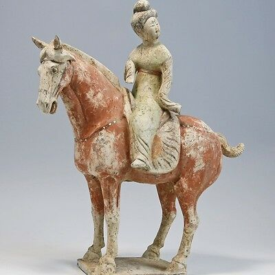 Chinese Horse and Rider Statue
