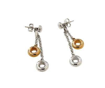 Chimento CHIMENTO EARRINGS WHITE AND PINK GOLD J179
