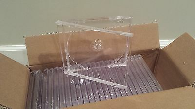25 Clear CD Jewel Cases - NEW!