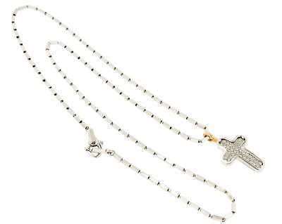 Chimento CHIMENTO CROSS NECKLACE 1G02909B17500 J420