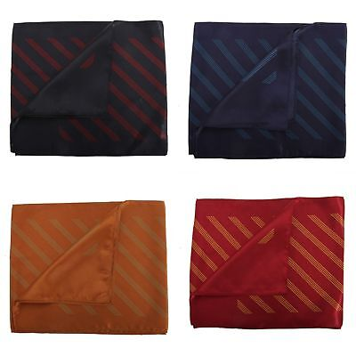 Premier Ladies/Womens Four Stripe Coloured Business Scarf