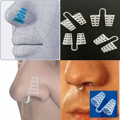 Anti Snoring Breathe Easy Sleep Aid Nasal Dilators Nose Clip-Quick Best results