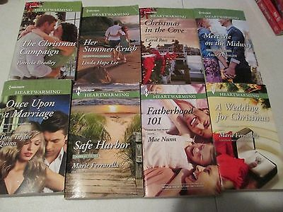 Lot of 8 Harlequin Heartwarming Romance Books  2014-2016