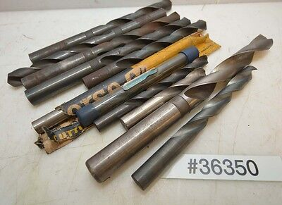 Lot of  eleven Straight Shank Drill Bits (Inv.36350)