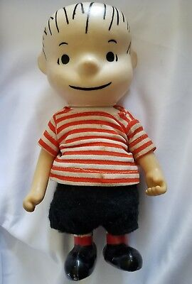 "Vintage 1966 7"" Linus Peanuts Pocket Doll by Boucher"
