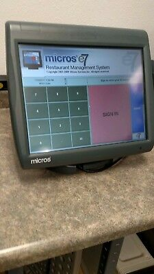 Micros 5a Workstation System Unit and Stand