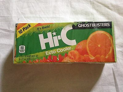 Hi-C Ecto Cooler 10 Pack Sealed Collectible Ghostbusters New Full