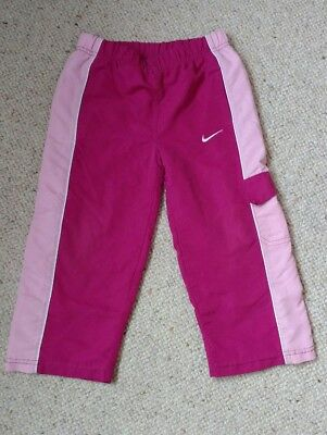 girls nike tracksuit bottoms, size 2-3 years