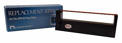 Acroprint 39-0127-000 Replacement Ribbon for ATR120 Time Recorder, Black/Red