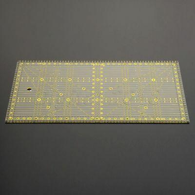 Sew Easy Sewing Quilting Patchwork Ruler Grid Cutting Tools Tailor Scale 30*15cm