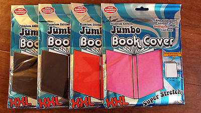 Jumbo Book Covers-High Quality Stretch Fabric-Four (4) Covers