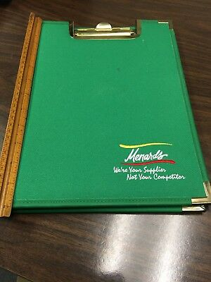 menards hardware store advertising clipboard