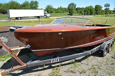 1956 Chris Craft 22' Continental Original wood classic NO RESERVE
