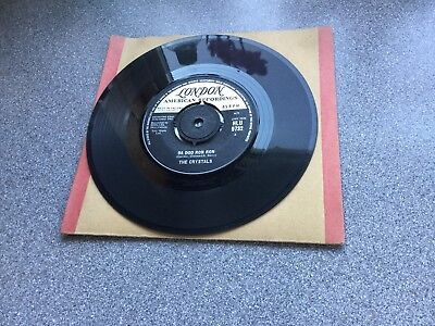 "For Sale Vinyl 7"" Single Record By The Crystals"