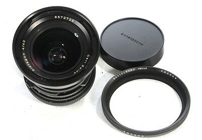 Hasselblad 40mm f4 Distagon CF FLE  lens ( with filter adapter)