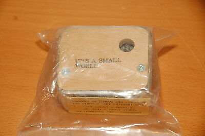 """Musical Box Movement """"It's a Small World"""" Great for any Project"""