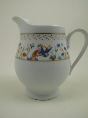 "AUDUBON by TIFFANY & Co Porcelain 4 3/8"" Creamer EXCELLENT"
