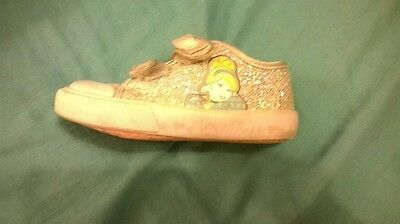 Girls Disney Princess Cinderella trainers size 5 by George
