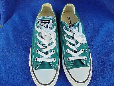 Converse, All Star, Men's Size 4 Women's Size 6 Green Canvas Sneakers Shoes