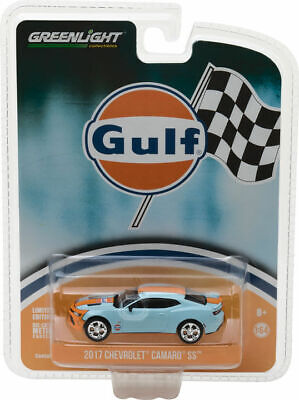Greenlight 1/64 2017 Chevy Camaro GULF - HOBBY EXCLUSIVE ISSUE! 29908