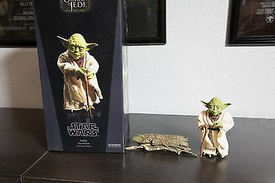 Sideshow STAR WARS YODA JEDI MENTOR 1/6TH Scale IN BOX A NEW HOPE