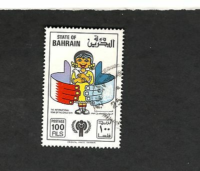 1979 State of Bahrain SC #272 INTERNATIONAL YEAR OF THE CHILD  Θ used stamp