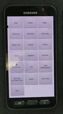 UNLOCKED Samsung Galaxy S7 Active G891A AT&T 4G LTE <LCD SHOWS BLACK DOTS> READ!