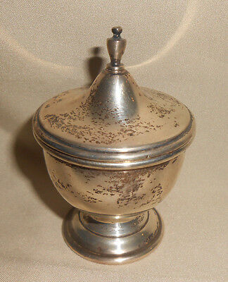 Covered Dish Very Small Sterling by Quaker Silver Co.