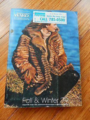 Vintage 1979 Montgomery Ward Fall Winter Department Store Catalog Book