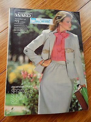 Vintage 1982 Montgomery Ward Spring & Summer Department Store Catalog Book