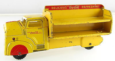 COCA-COLA Yellow 1950's Delivery Truck
