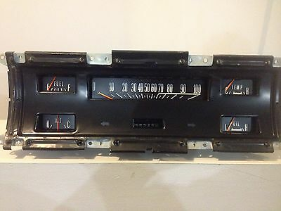 1968 Ford F100 gauge cluster instruments panel 1969 1967 1970 1971 1972 OEM