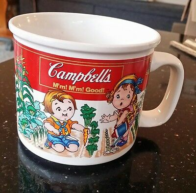 Vintage~Campbell's Garden Kids Soup Cup~Collectible Cup/Mug~1993 by Westwood