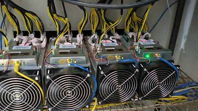 Lot of 4 Bitmain Antminer S9 13.5TH/s with HD Heavy Server Duty 94+ Platinum PSU