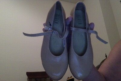 Theatricals Women's Size 7 Leather Upper & Sole Tap Shoes Inch Heels Bloch