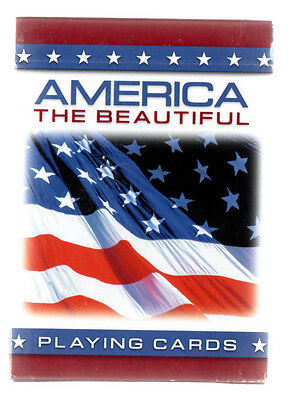 "Unsealed Deck of playing Cards ""America the Beautiful"" (2010)"