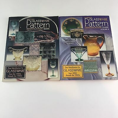 Florences Glassware Pattern Identification Guides Vol. I and III
