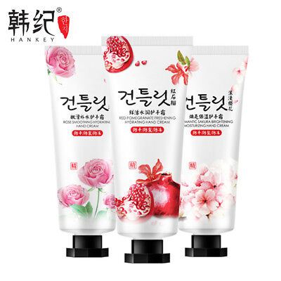 Hand Cream Dry Damaged Skin 30g Red pomegranate Cherry blossoms Rose Scent