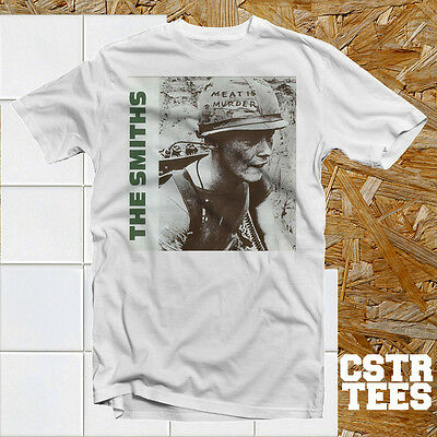 The Smiths Meat is Murder Album Cover T shirt Cool Retro 80's Music Indie