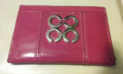 Coach ID Card holder.